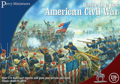Perry American Civil War Battle Set - Battle in a Box - Perry Miniatures