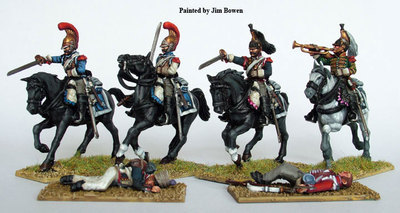 French Napoleonic Heavy Cavalry 1812-1815 - Perry Miniatures