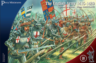 English Army 1415-1429 - Perry Miniatures
