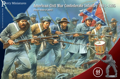American Civil War Confederate Infantry 1861-65 - Perry Miniatures