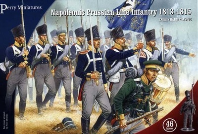 Prussian Napoleonic Line Infantry 1813-1815 - Perry Miniatures