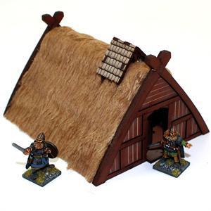 Norse Hovel/Workshop - Wohnhaus/Werkstatt bemalt - 4Ground