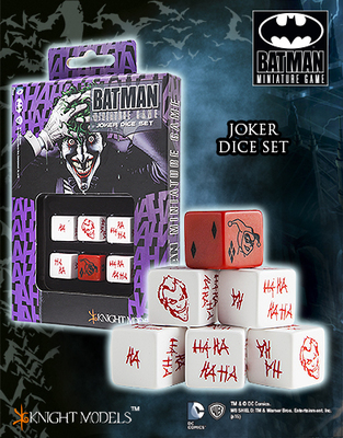 Joker Dice Set - Joker-Würfel - Batman Miniature Game