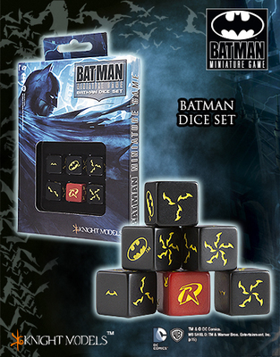 Batman Dice Set - Batman-Würfel - Batman Miniature Game