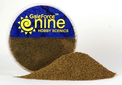 Hobby Round: Dirt Foundation Flock Blend - Gale Force 9