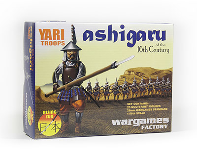 Ashigaru Yari Troops - Rising Sun - Wargames Factory