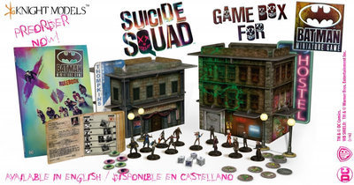 Suicide Squad Game Box (English) - Batman Miniature Game - Knight Models