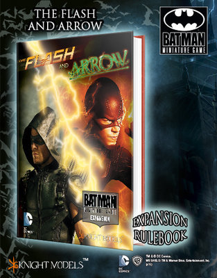 The Flash and the Arrow Expansion (English) - Batman Miniature Game