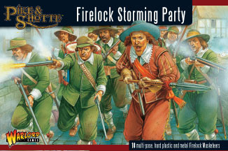 Firelocks Storming Party - Pike & Shotte - Warlord Games