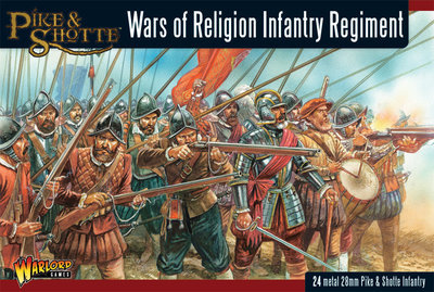 Wars of Religion: Infantry Regiment - Black Powder - Warlord Games