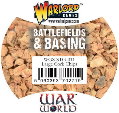 Large Cork Chips (500ml) - Warlord Games