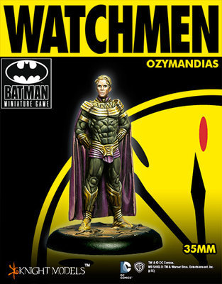 Ozymandias - Watchmen - Batman Miniature Game