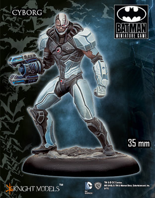 Cyborg - Batman Miniature Game