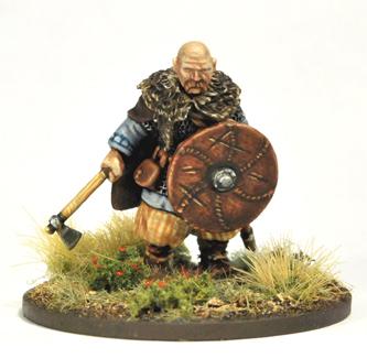 Jarl Sigvaldi & 3 Jomsvikings (inc. Fixed Warlord) - SAGA - Jomswikinger