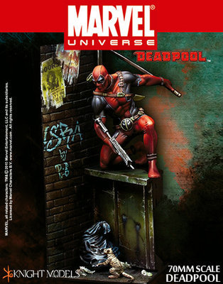 Deadpool 70mm - Marvel Knights Miniature
