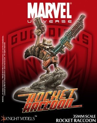 Rocket Raccoon - Marvel Knights Miniature