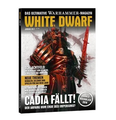 White Dwarf Januar 2017 (Deutsch) - Games Workshop