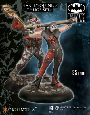 Harley Quinns Thug Set 1 - Batman Miniature Game