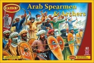 Arab Spearmen & Archers - Gripping Beast