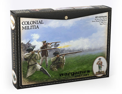 Colonial Militia American War of Independence - Horse and Musket - Wargames Factory