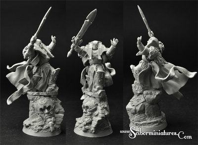 SF Egyptian Wizard - Scibor Miniatures