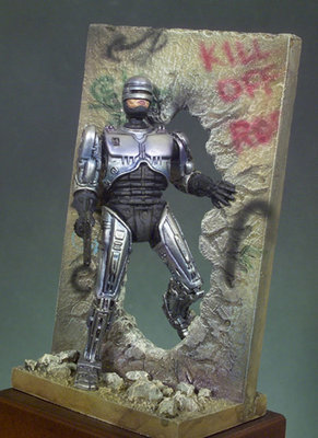 Technocop (2030) - 54mm - Andrea Miniatures