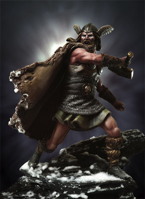 Thor - 54mm - Andrea Miniatures