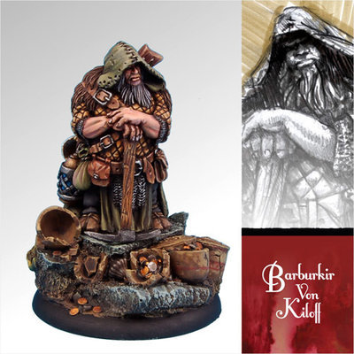 Barburkir von Kiloff - Scibor Miniatures