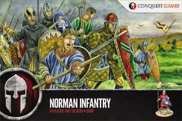 Norman Infantry - SAGA - Conquest Games