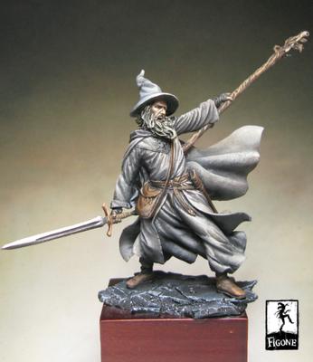 Grey Mage (62 mm) - Figone