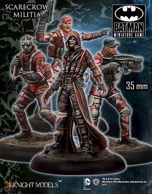 Scarecrow Militia - Batman Miniature Game
