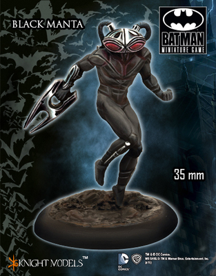 Black Manta - Batman Miniature Game