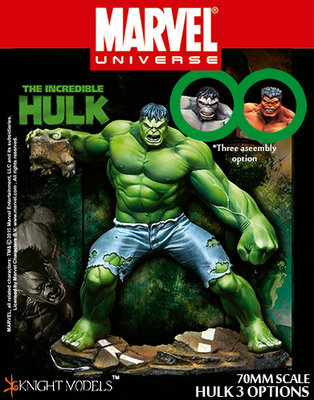 HULK 3 Options 70mm - Marvel Knights Miniature