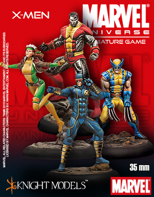 X-Men Starter Set - Marvel Universe Miniature Game
