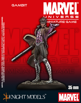 Gambit - Marvel Universe Miniature Game