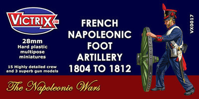 French Napoleonic Artillery  - Victrix