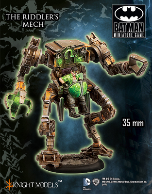 Riddler's Mech - Batman Miniature Game
