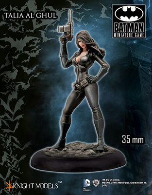Talia Al Ghul (Comic Version) - Batman Miniature Game