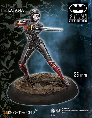 Katana - Batman Miniature Game