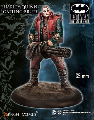 Gatling Brute (Harley Crew) - Batman Miniature Game