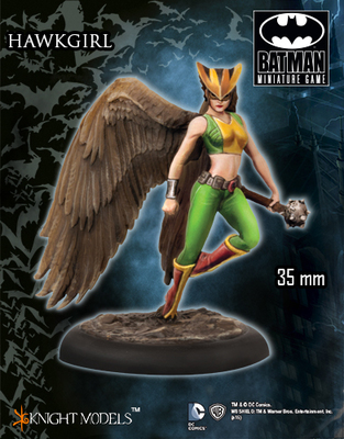 Hawkgirl - Batman Miniature Game