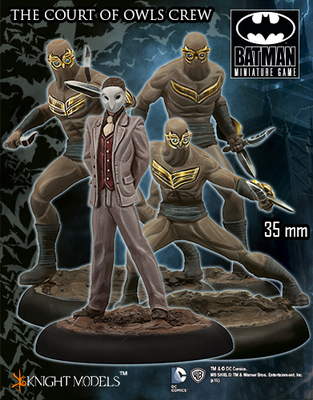 The Court Owls Crew - Batman Miniature Game