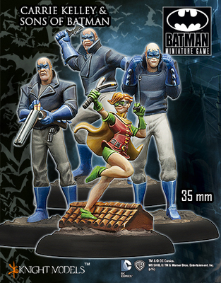Carrie Kelley & Sons of Batman - Batman Miniature Game