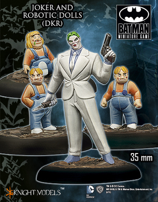 Joker and Robotic Dolls - Batman Miniature Game