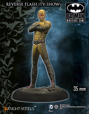 Flash Reverse TV Series - Batman Miniature Game