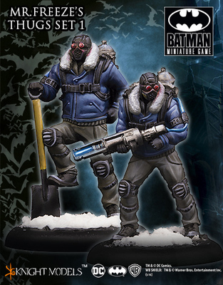 Mr Freeze Thug Set I  - Batman Miniature Game
