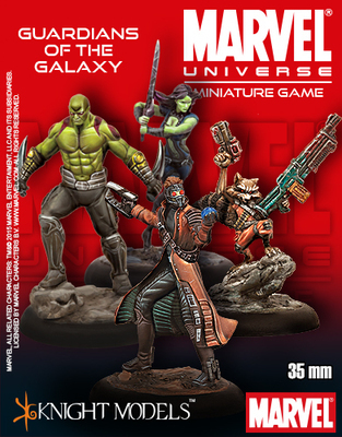 Guardians of the Galaxy Starter Set - Marvel Universe Miniature Game