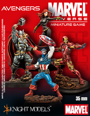 The Avengers Starter Set - Marvel Universe Miniature Game