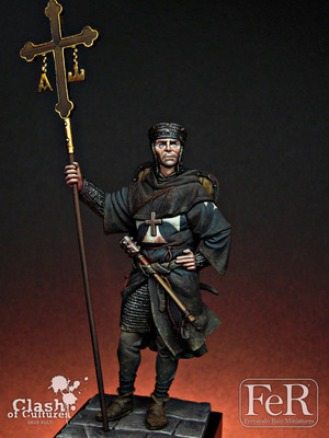 Hospitaller Sergeant-at-Arms Acre, 1191 - FeR Miniatures