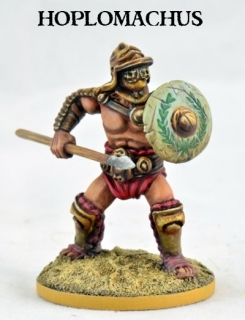 Hoplomachus Gladiator - JUGULA Figur (english)